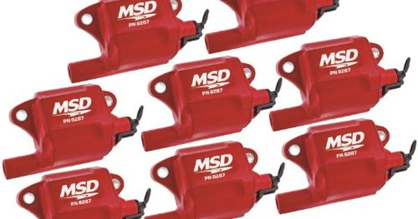 Msd 82878 Multiple Spark Coil Set Of 8 Amazon Best Buy