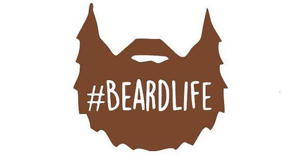 Beardlife Decal Beardlife Beard Life Manly Decal