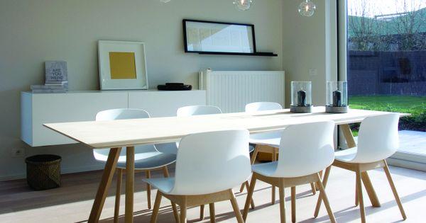 Moderne woonkamer • wit design • www.dumobil.be # livios.be ...