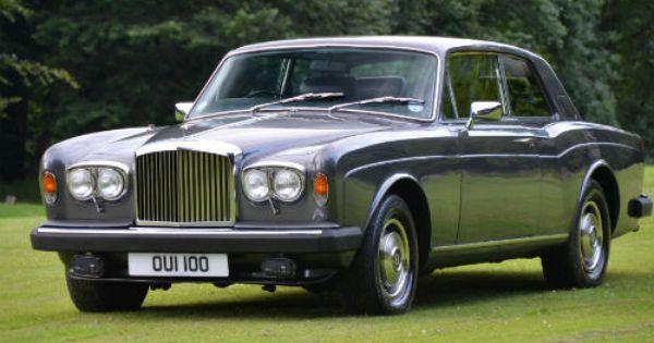 Rolls Royce Corniche Two Door Saloon Chassis Cbh50059 1980 Rolls Royce Classic Cars British Bentley Rolls Royce