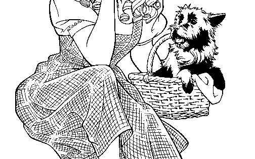 Wizard Of Oz Coloring Pages Wizard Of Oz Coloring 5 Free