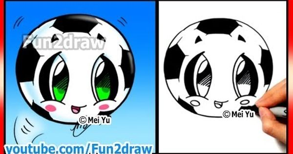 How To Draw Soccer Ball Football Fifa World Cup Learn How To Draw Fun2draw Cartoons Youtube Fun2draw Cartoon Drawings Learn To Draw
