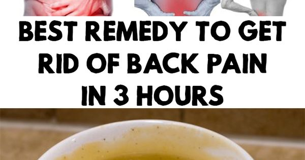 how to get rid of back pain from flu
