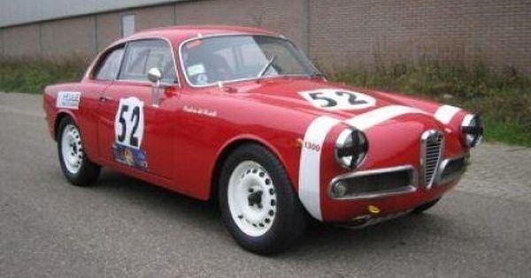 1959 Alfa Romeo Giulietta Sprint Veloce Race Car Alfa Romeo Giulietta Alfa Romeo Race Cars