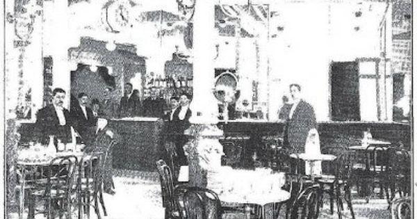 Foto antigua caf nuevo europa en la calle princesa madrid - Calle princesa barcelona ...