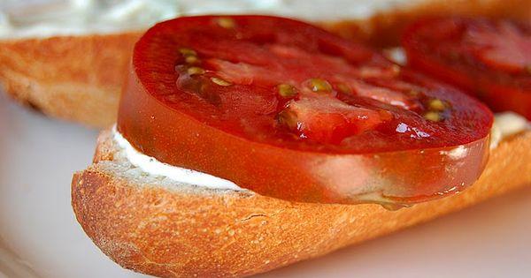 recipe...haven't tried it, but looks yum. My favorite summer sandwich ...