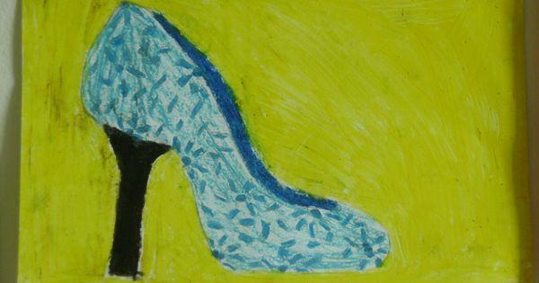 Ontwerp je eigen schoen waskrijt groep 6 groep 6 for Eigen badkamer tekenen