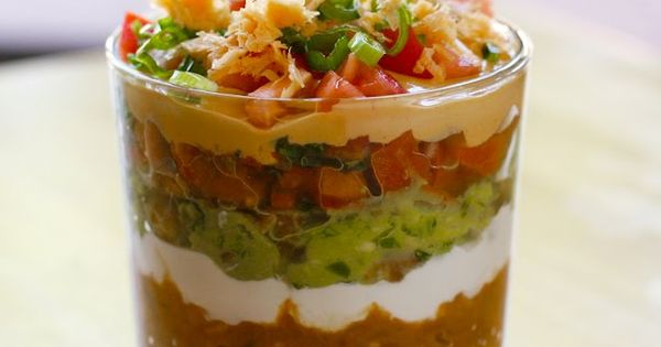 Seven Layer Dip - mmm!