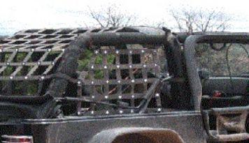 Diy Jeep Cargo Net Diy Jeep Jeep Wrangler Forum Jeep Wrangler Tj