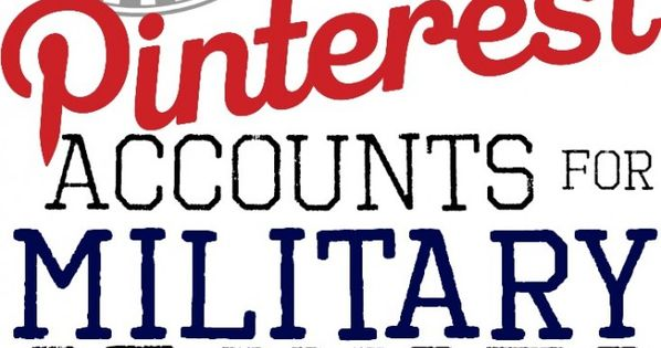 Fab Pinterest resources for milsos and milspouses! Definitely following these accounts!