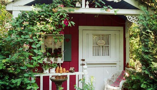 garden shed ideas | SHABBY CHIC GARDEN SHEDS