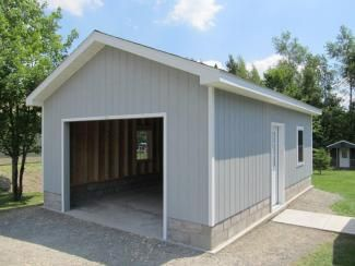 16x24 Garage Adirondack Storage Barns Shed Building Plans Building A Garage Barn Storage