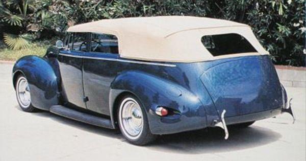 1940 mercury 4 door convertible restyled by valley custom for 1940 mercury 4 door convertible