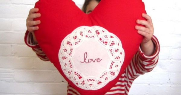 valentine day gift pillow
