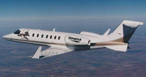 Nascar 39 S Rick Hendrick 39 S Motorsports Private Jet