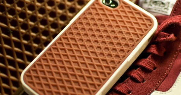 Vans Waffle Sole iPhone 4 Case - This flexible rubber Vans Phone