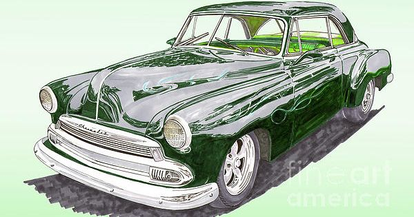 1952 Chevrolet Bel Air By Jack Pumphrey Chevrolet Bel Air Bel Air Chevrolet