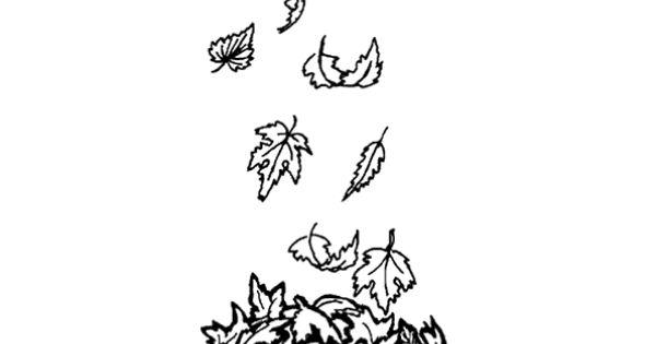 Coloriage dessin feuilles d 39 automne en vrac coloriages - Coloriage chataigne ...