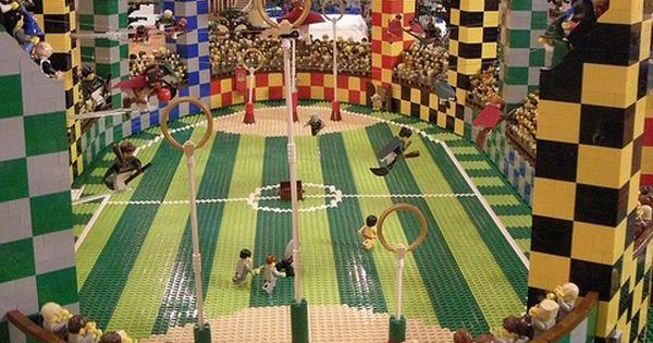 LEGO Quidditch pitch