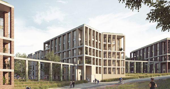 Mill Hill London Unit Architects Architecture Visualization