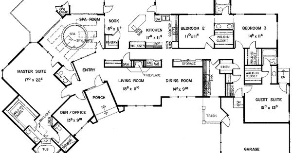 Floor Plans Aflfpw21128 1 Story European Home With 5