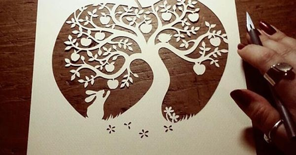 30 easy paper cutting crafts for beginners