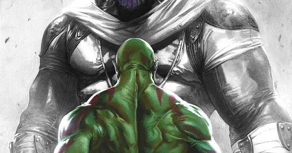Drax The Destroyer Vs Venom: Gabriele Dell'Otto's Drax By OooJ03ooo.deviantart.com