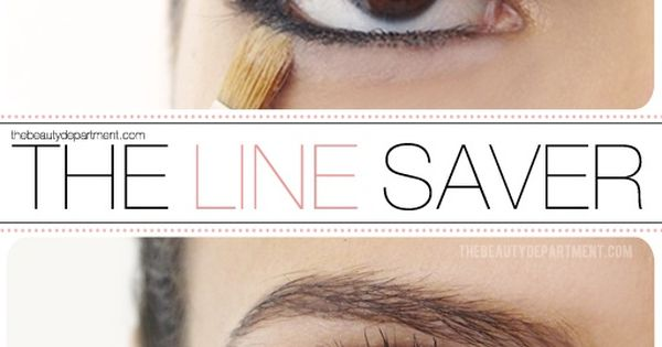 How to prevent your eyeliner from running. beauty makeup eye eyemakeup IPAProm