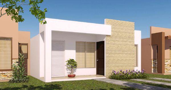 27 modelos de frentes de casas simples e modernas house - Modelos de casas de un piso bonitas ...