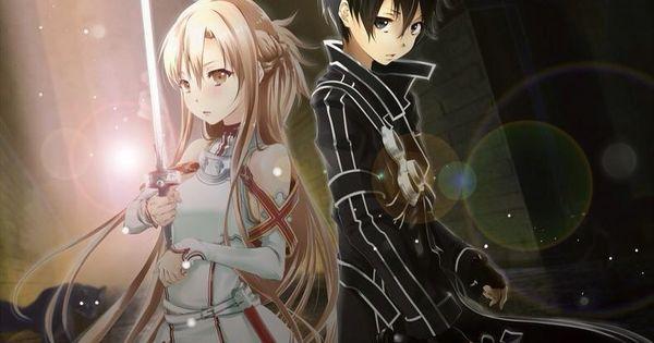 Light and dark anime couple with swords anime couples - Dark anime couples ...