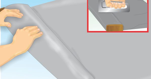 How To Tarp A Roof 9 Steps With Pictures Wikihow Roof Tarps Hurricane Preparedness
