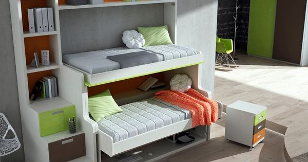 how 39 s this for an awesome hiddenbed cool colors sweet bunk bed stairs and the bottom one turns. Black Bedroom Furniture Sets. Home Design Ideas