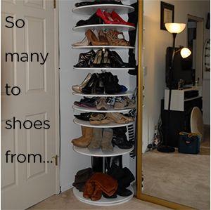 Building A Shoe Carousel Shoe Carousel Shoe Storage Unit Shoe Cubby