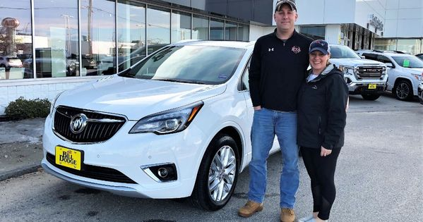 Congrats To The Colfer Family For Upgrading From A 2016 Buick Encore To A Beautiful 2019 Buick Envision Cari Had A Lo Buick Envision Buick Encore Buick
