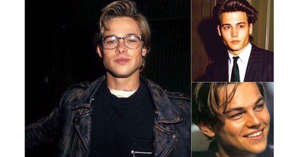 Immagine Di Brad Pitt Johnny Depp And Leonardo Dicaprio With