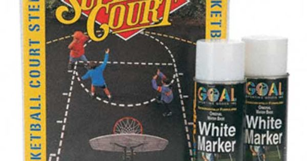 Easily Create Basketball Court Lines With Court Stencil