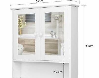 Hangeschrank Badschrank Wandschrank Spiegelschrank Kuchenschrank Holz Weiss Ebay In 2020 Shabby Chic Schrank Wandschrank Badschrank