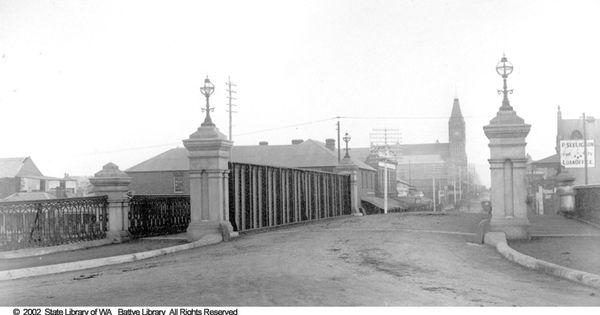 Beaufort street bridge perth 1895 perth history for 137 st georges terrace perth