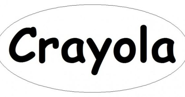 Crayola Logo Template Fun Coloring Diy Halloween Costumes For