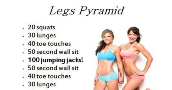 Toned Legs with Tone It Up's Lean Legs Pyramid