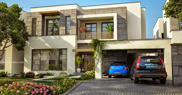 3D Front Elevation.com: Modern House Plans U0026 House Designs In Modern  Architecture,1 Kanal Plot Modern Contemporary Luxury House In Lahore Design  Wiu2026