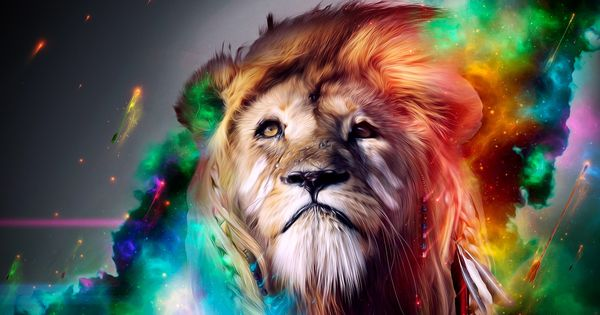 Lion 3D Graphics HD Desktop Wallpaper wallpapers