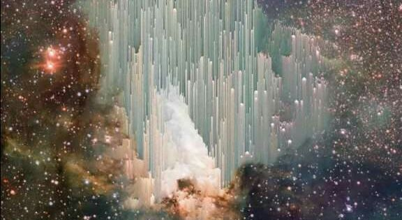 This is a photo taken by Hubble. Scientists cannot begin ...