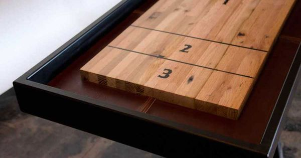 Shuffleboard Table For The Home Pinterest