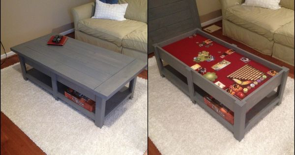 Side By Side View Gaming Tables Pinterest Coffee Gaming And Game Tables