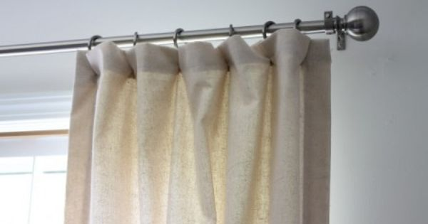 Como hacer cortinas para sala extra long shower curtain for Como hacer cortinas para sala