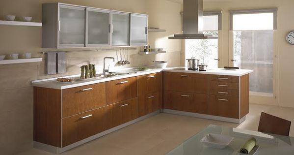 Dise os de muebles de cocinas de melamina modernos 5 for Ver amoblamientos de cocina