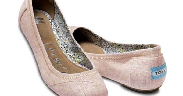New TOMS linen ballet flats!!! I want these!