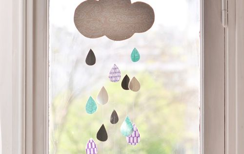 spring craft idea... april showers bring may flowers