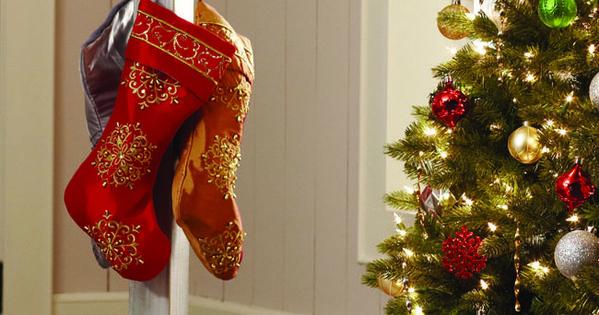 DIY - Stocking Holder - The Home Depot Workshops Diy stockings